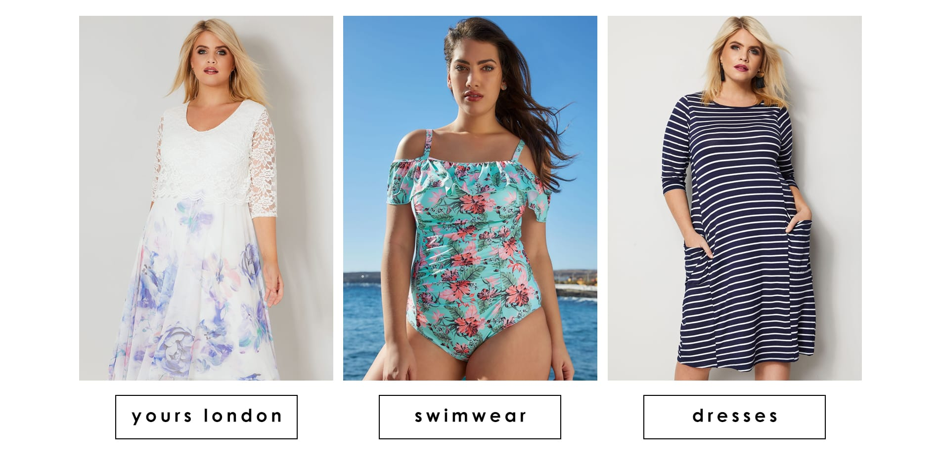 yours london plus size swimwear dresses