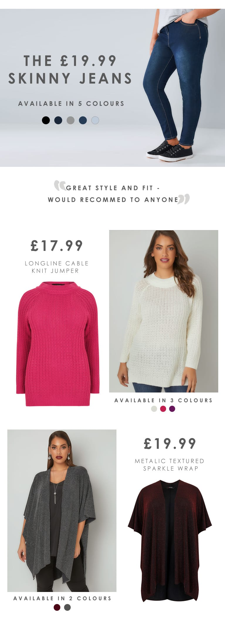 Shop women's plus size value clothing >