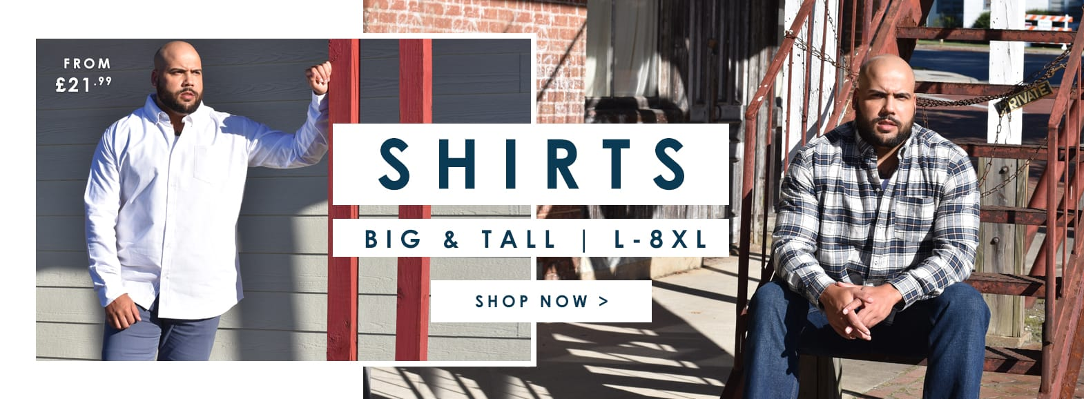 Shop Big and tall mens shirts >
