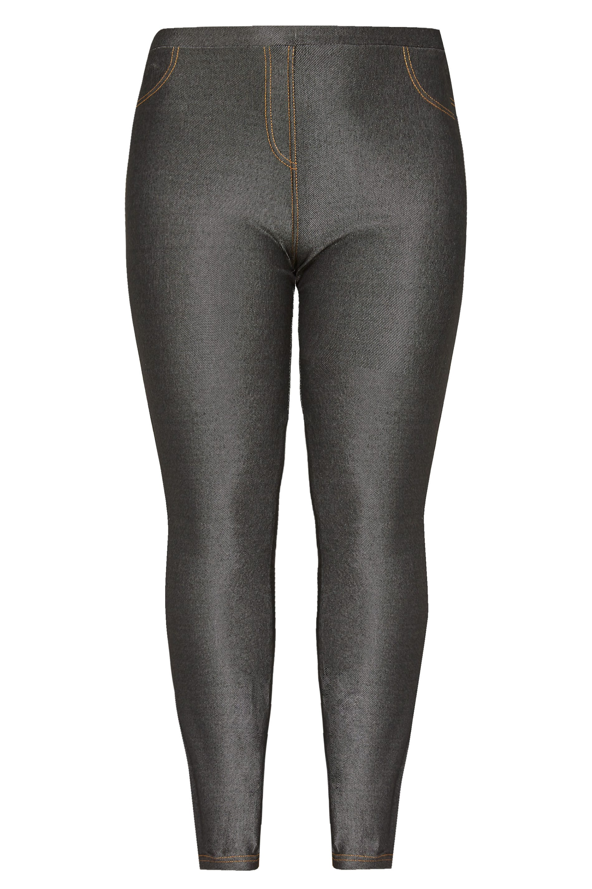 3d58b185a63b8 SIZE UP Black Full Length Jeggings | Sizes 16 to 36 | Yours Clothing